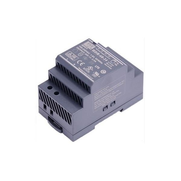 DS-KAW60-2N, Alimentatore interfono, 60W, 24V DC, versione su guida DIN