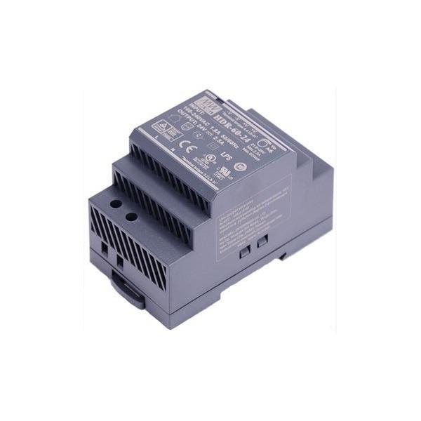 DS-KAW60-2N, Fonte de alimentação para interfone, 60W, 24V DC, versão em trilho de fixação