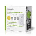 Nedis DTCTCO20WT, Carbon Monoxide Detector, Small Design, Sensor, Battery Life of 10 Years