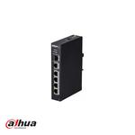 Dahua DH-PFS3106-4P-60, conmutador PoE de 4 puertos, 4x PoE - 60W