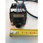 ASE Telecamera IP Pinhole piccola, Full HD, Onvif, PoE, angolo di visione di 160 gradi, obiettivo da 1,7 mm