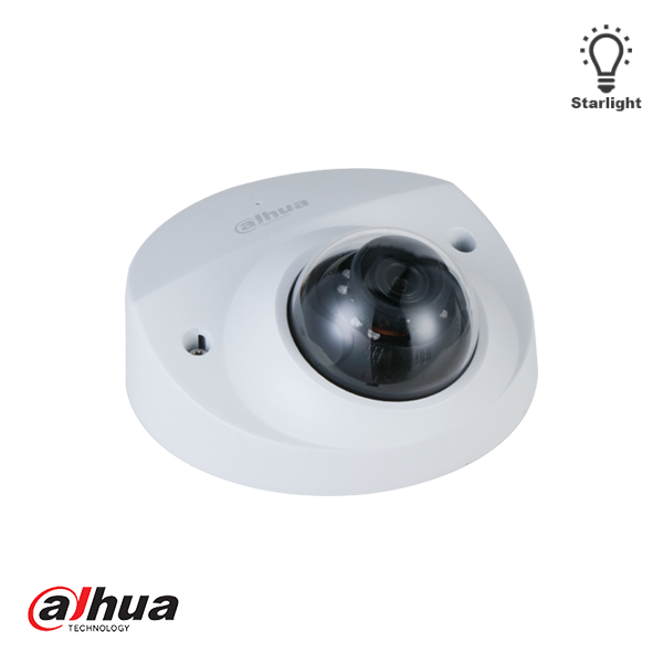 Die Dahua IPC-HDBW3441F-AS-M-28, 4 MP Lite AI IR-Netzwerkkamera mit festem Brennpunkt und 2,8 mm ist eine kompakte Kuppelkamera, die für den Innen- und Außenbereich geeignet ist. Die Überwachungskamera erzeugt nicht nur messerscharfe Full HD-Bilder, sonde