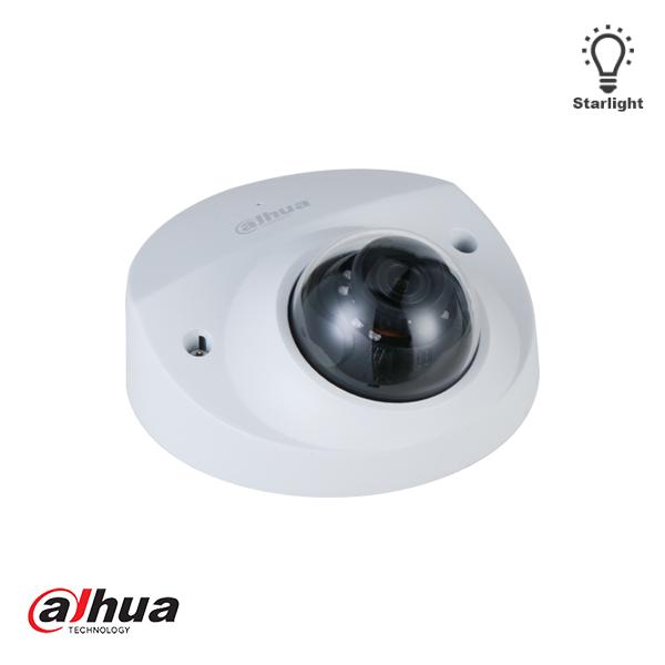 La caméra réseau réseau avec dôme à focale fixe et infrarouge fixe IPAD Dahua IPC-HDBW3441F-AS-M-28, 4MP Lite 2,8 mm est une caméra dôme compacte et adaptée à l'intérieur et à l'extérieur. La caméra de sécurité produit non seulement des images Full HD d'u