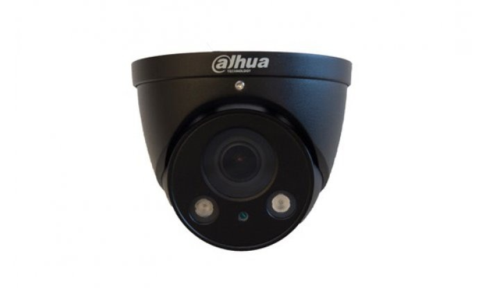 IPC-HDW2531RP-ZS Black 5MP WDR IR-Mini Dome camera varifocal lens, motorized 2.7-13.5mm