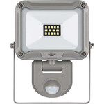 Nedis LED Floodlight met Sensor, 10 W, 900 lm, Grijs