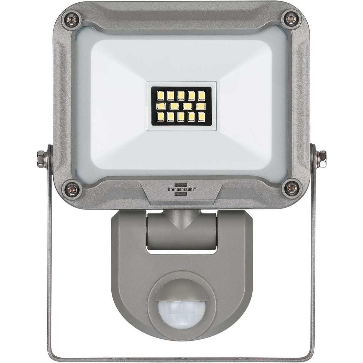 Adequado para instalação interna e externa, IP 44. Chip LED de alta potência de 10 W para montagem na parede, com distribuição de luz extra larga para iluminar uma grande área. Ideal para amadores, oficinas e canteiros de obras. Ilumina automaticamente en