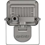 Nedis Proiettore a LED con sensore, 10 W, 900 lm, grigio