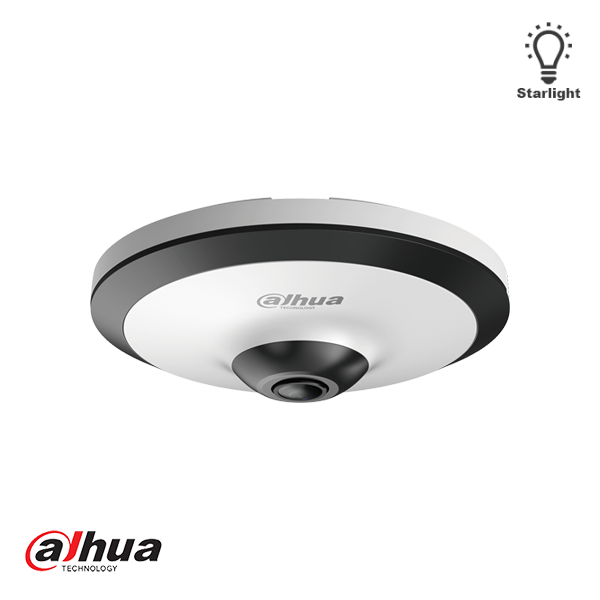HAC-EW2501 5MP, HDCVI, WDR Fisheye Camera, microphone, anti vandal, 1.18 mm lens When this camera is mounted against a wall or wall, it is best to use the Dahua PFB203W wall mount.