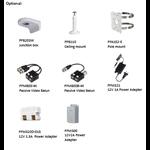Dahua HAC-EW2501 5MP, HDCVI, caméra Fisheye WDR, microphone