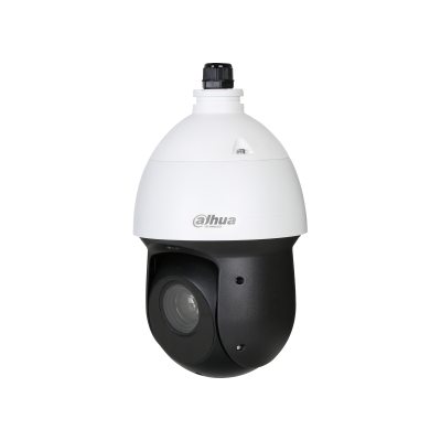 The Dahua Starlight PTZ cameras are capable of displaying high-quality colored images under conditions of minimal lighting. This is possible from a lighting level of 0.005 lux (color). The camera also has True WDR. This model also has the AI intelligence.
