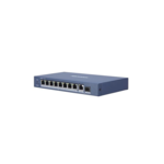 Hikvision DS-3E0510P-E, 10 puertos, conmutador Gigabit, 8x PoE, 1x SFP