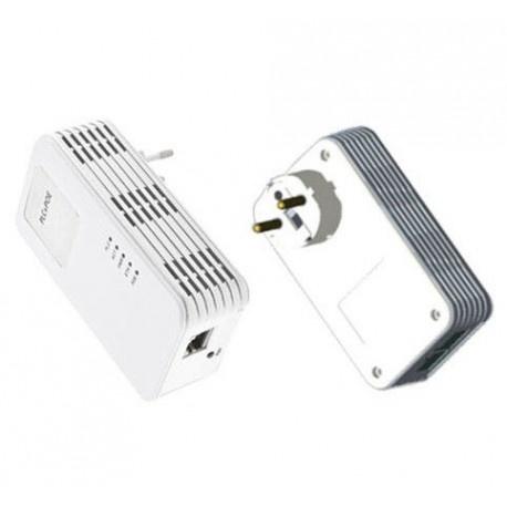 Deze Powerline moduleset met PoE  (geschikt voor 3-phase) is een complete set en maakt van uw bestaande stroomnet een netwerkverbinding met hoge snelheid zonder dat u nieuwe leidingen hoeft aan te leggen of te boren. Geen configuratie nodig, steek eenvoud