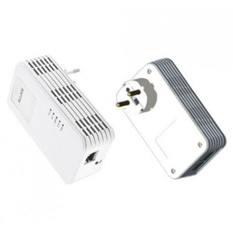 Powerline Adapter Set 1200Mbps mit PoE-Funktion + Homeplug (3-phasig)