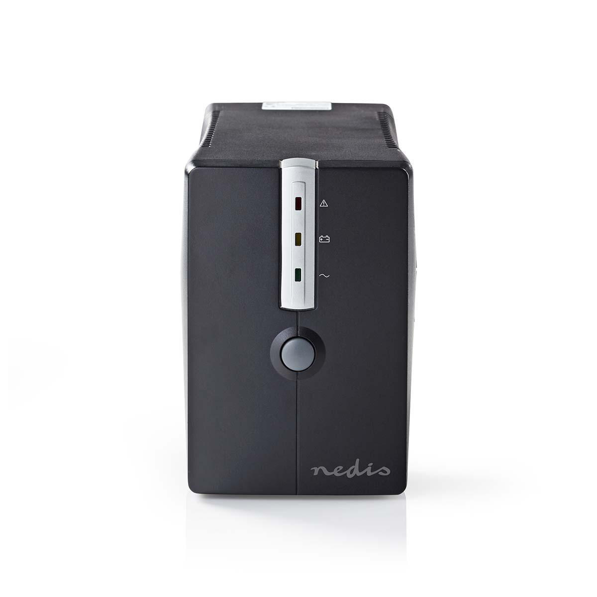 Protect your valuable computer and files against power outages and power surges with this powerful 650A UPS. The built-in battery gives you 10 minutes to save files and to shut down the computer properly during a power failure. With the monitoring softwar