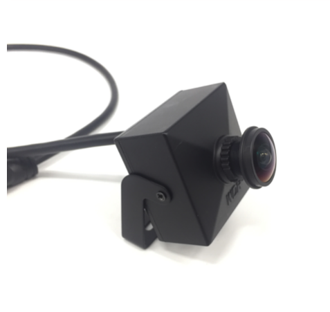 Small Pinhole IP camera, Full HD, Onvif, PoE, 160 degree viewing angle, 1.7mm lens, compact model Pinhole IP camera Full HD with PoE, plug and play to connect to a Hikvision recorder with PoE. Viewing angle approximately 160 degrees. Camera can tilt for b