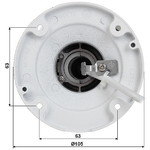 Hikvision DS-2CD2T45FWD-I5 nero, 4MP, 50m IR, WDR, Ultra Low Light