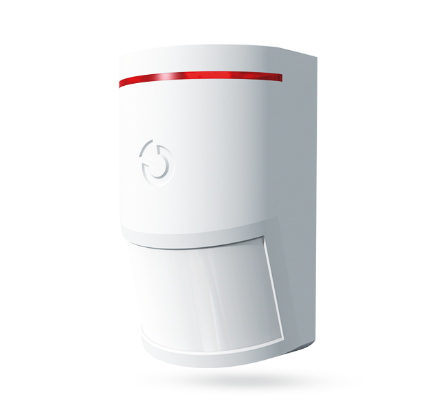 The product is a bus system device for the Midway Pro and Essex Pro. This detector is designed to detect movements of the human body in buildings. Compared to standard JABLOTRON 100 series PIR motion detectors, its detection characteristics are changed an