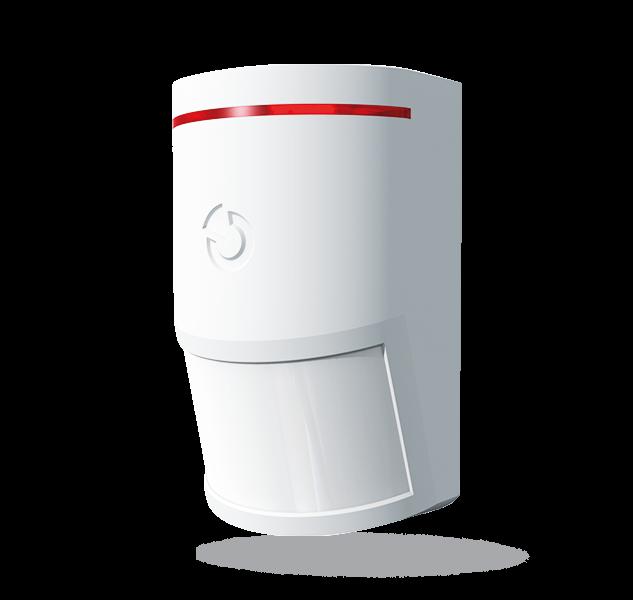 Het product is een bussysteemapparaat voor de Midway Pro en Essex Pro. Deze detector is ontworpen om bewegingen van het menselijke lichaam te detecteren in gebouwen. Vergeleken met standaard PIR-bewegingsdetectoren uit de JABLOTRON 100-serie zijn de detec