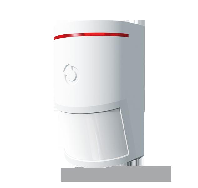El producto es un dispositivo de sistema de bus para Midway Pro y Essex Pro. Este detector está diseñado para detectar movimientos del cuerpo humano en edificios. En comparación con los detectores de movimiento PIR JABLOTRON serie 100 estándar, sus caract