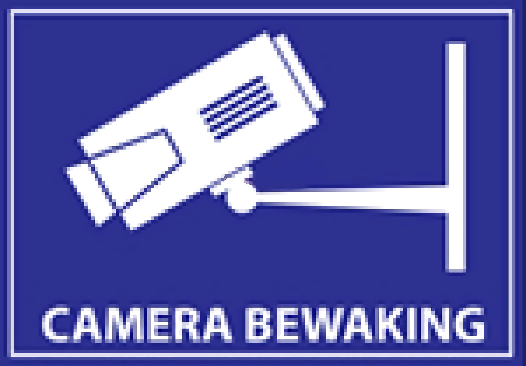 Aponte suas câmeras de vigilância para clientes, funcionários e transeuntes. Este adesivo de aviso profissional detém e, portanto, pode evitar muito aborrecimento. Os adesivos são unilaterais e resistentes às intempéries.