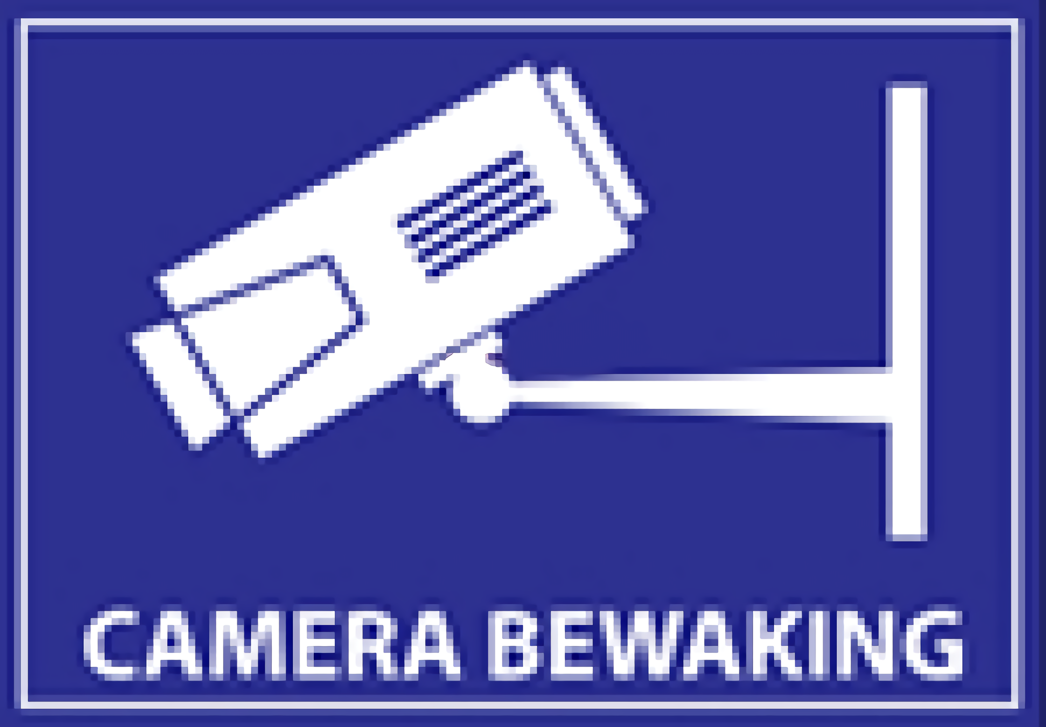 Camera Surveillance Sticker