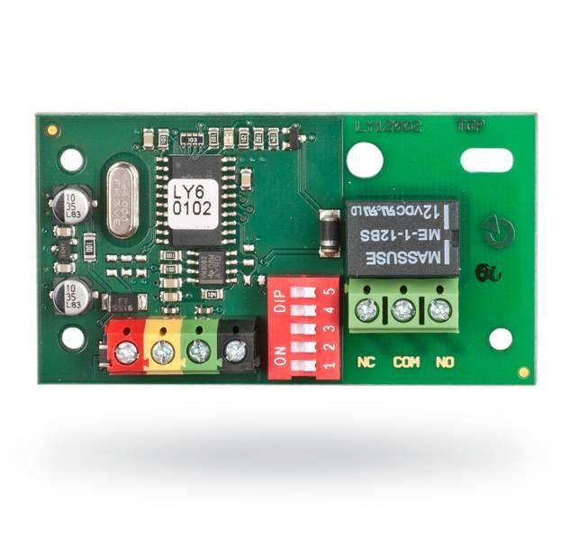 O módulo de saída de sinal Jablotron JB-111N BUS PG é projetado para fornecer um atraso de saída variável (8 A) com uma configuração NO ou NC. Uma saída PG apropriada ...