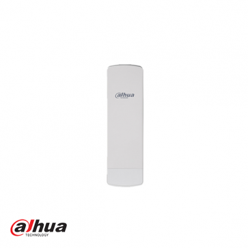 5.8Ghz. Wireless video transmission device transmitter / receiver. For a wireless link to a camera at a long distance you need 2 of this transmitter / receiver. Can receive and transmit up to 5km. There must be a line of sight between the two units.