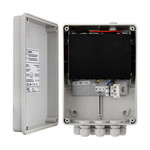 ASE S64H 100Mbit switch in IP56 outdoor cabinet 2x uplink & 4xPoE +