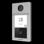 Hikvision DS-KV8113-WME1 / FLUSH, 1 botão de campainha, iluminação IV, PoE / 12v, leitor de cartão Mifare, integrado