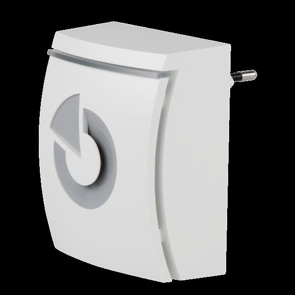 JA-152A Pro, sirena inalámbrica para en el zócalo. El producto es un dispositivo inalámbrico para las series Jablotron 100, 101, 103 y 107. La sirena está diseñada para indicar alarmas en un edificio.