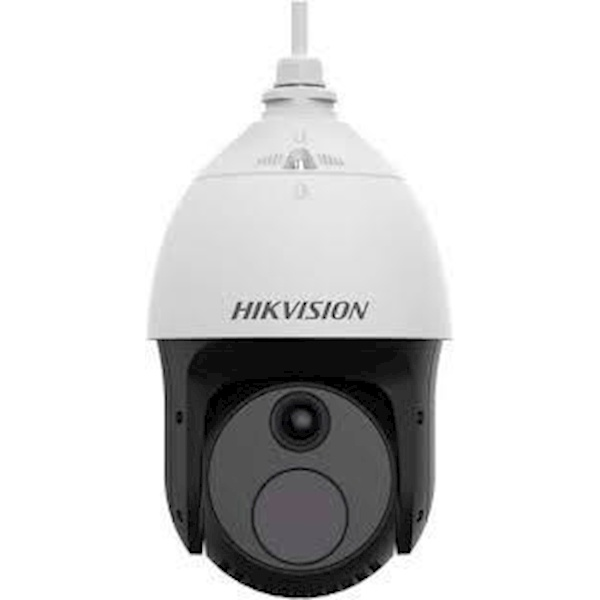 The Hikvision DS-2TD4237-10 / V2 Thermal and optical bi-spectrum network speed dome, is equipped with a built-in GPU that supports intelligent behavior analysis algorithm, thus can realize high precision VCA detection and real-time alarm.