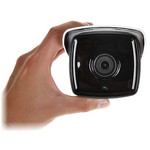 Hikvision DS-2CD2T45G0P-I, uso esterno, 4MP, 1.68mm, WDR 120dB, vista panoramica a 180 °