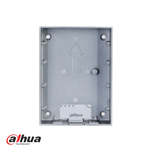 VTM115 surface-mounted housing for the entrance panel