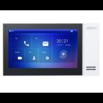 Dahua DHI-VTH2421FW-P, Innengerät 7 Zoll Touchscreen, weiß, PoE, SIP