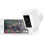 Ring Ring Spotlight Cam, WiFi, 230v powered, White