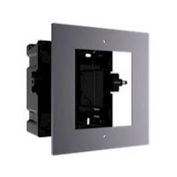 Installation frame for modular intercom.