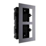 Hikvision Marco de instalación DS-KD-ACF2, 2 módulos