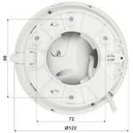 Dahua Full HD IP kit 1x 4 Megapixel Eyeball cameraset