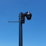 ASE Camera mast with tilting anchor 4 meters