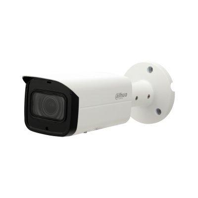 Diese HD-CVI-Vollfarbkamera verfügt über eine weiße LED-Hintergrundbeleuchtung. Diese LED leuchtet auf, sobald die Lichtmenge an der Kamera unter 3 Lux fällt. Diese LED-Beleuchtung kann ausgeschaltet oder die Empfindlichkeit des Lichtsensors über das OSD-