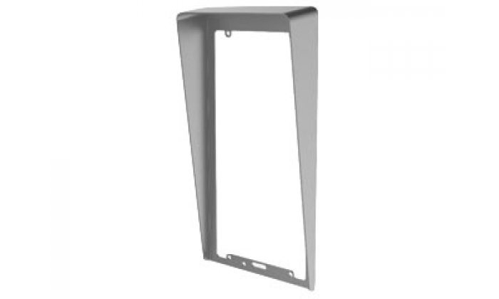 DS-KABV8113-RS / FLUSH, Rain cover for DS-KV8x13 Villa Door stations, flush-mounted model. Main features: Application: rain cover for the KV8113 / 8213/8413 Hikvision Villa Door station / outpost. To be used for installation of a door station / outdoor st