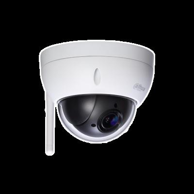 """> STARVIS ™ CMOS de 1 / 2,8 """"> Zoom óptico 4x poderoso> Suporte Starlight> WDR, Dia / Noite (ICR), Ultra DNR> Máx. 25 / 30fps a 1080P Velocidade panorâmica máxima de 100 ° / s> IVS> Suporte Wi-Fi> IP66, IK10"""