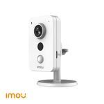 Dahua Câmera 4MP WiFi-Cube de 2,8 mm, áudio de 2 vias, slot para micro SD, PIR