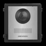 Hikvision DS-KD8003-IME1 / NS, interfone modular, módulo da câmera em aço inoxidável sem botão de campainha
