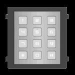 Hikvision DS-KD-KP / S, interfone modular, teclado em aço inoxidável