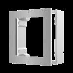 Hikvision DS-KD-ACW1 / S, intercomunicador modular, estrutura de montagem em superfície 1 módulo de aço inoxidável