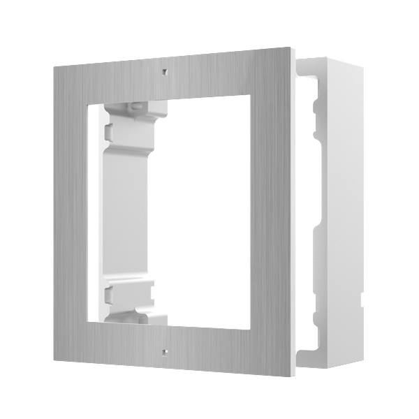 DS-KD-ACW1 / S, modular intercom, surface-mounted frame 1 stainless steel module to be combined with the camera module