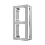 Hikvision  DS-KD-ACW2/S, modulaire intercom, opbouwframe 2 modules RVS