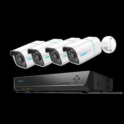 Kit de surveillance de la caméra IP HD