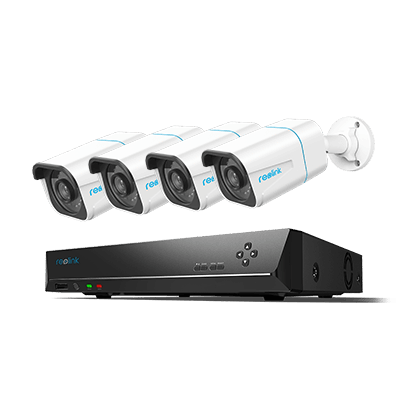 Kit di videosorveglianza IP HD